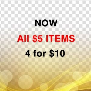 Other - 4 $5 items for $10